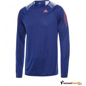 Camiseta Adidas Adizero manga larga