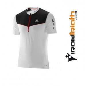 Camiseta Salomon Fast Wing HZ SS Tee