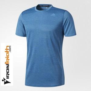Adidas Supernova Camiseta Mnga Corta Azul