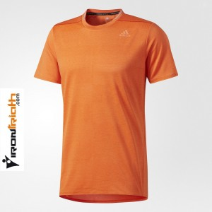 Adidas Supernova Camiseta Manga Corta Naranja